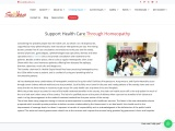 Support Healthcare through Homeopathy, Donate for Healthcare