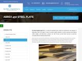 Abrex 450 Steel Plate Dealers in Mumbai