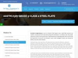 ASTM A387 Grade 9 Class 2 Steel Plate Traders in Mumbai.