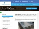 Chrome Molly Plates|Sai Steel & Engineering Co.