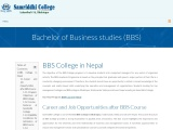 Best BBS College in Nepal | BBS College | College in Nepal
