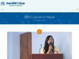 BBS College in Nepal   BBS College   College in Nepal