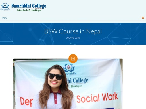 BSW Course in Nepal | BSW College in Nepal