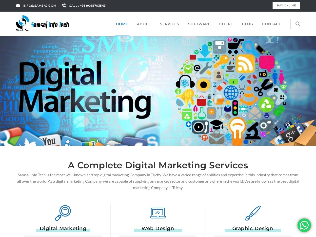 Web Design Company in Kanyakumari