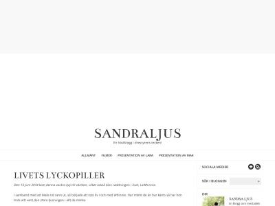 sandraljus.blogg.se