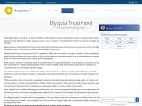 Myopia Treatment in India | Myopia Treatment