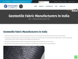 geotextile fabric manufacturers in india