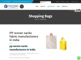 pp woven sacks manufacturers in india