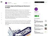 A Creative Agency that Brings your Business in Spotlight