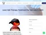 Laser Hair Therapy Treatment for Hair Loss in Delhi