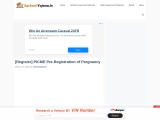[Register]PICME 2021– Tamilnadu | PICME-Pre-Registration of Pregnancy