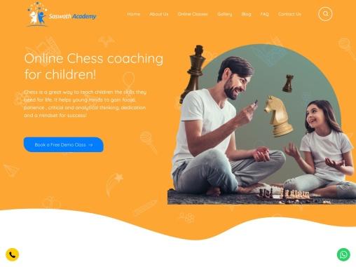 Online chess coaching