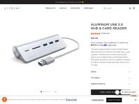 Aluminum USB 3.0 Hub & Card Reader – Satechi