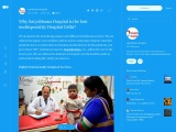 Why Satyabhama Hospital is the best multispeciality Hospital Delhi?