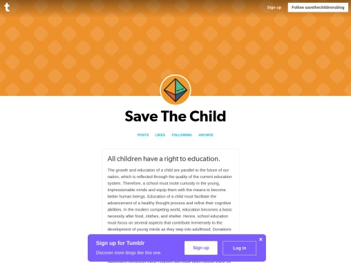 All children have a right to education.