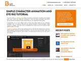 Simple Character Animation And Eye Rig Tutorial