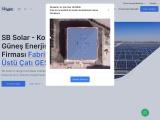 SB Solar Konya Güneş Enerjisi Firması