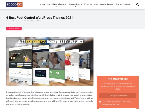 6 Best Pest Control WordPress Themes 2021