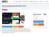 ZikZag Consulting & Agency WordPress Theme
