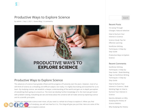 Productive Ways to Explore Science by Scott A. Kleiner