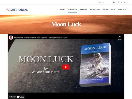 Moon Luck by Wayne Scott Harral
