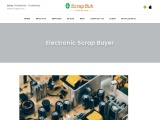 Sell E Waste Online | Electronic Scrap Buyer