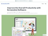 Improve the Overall Productivity with Screenshot Software