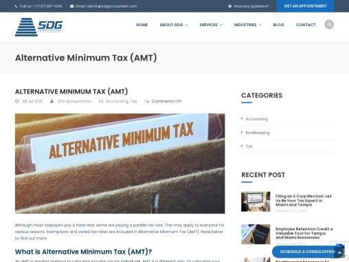 What is Alternative Minimum Tax (AMT)?