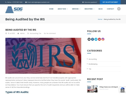 How to Survive an IRS Tax Audit?