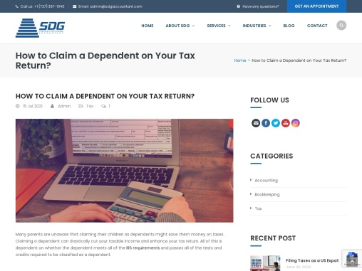How to Claim a Dependent on Your Tax Return?