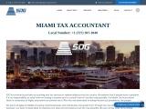 Miami Tax Accountant & Enrolled Agent | SDG Accountants
