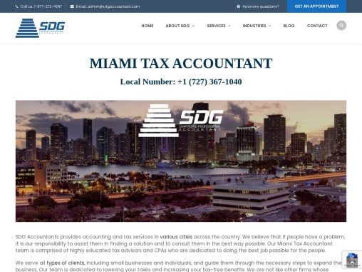 Miami Tax Accountant and Enrolled Agent