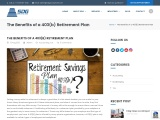 The Benefits of a 403(b) Retirement Plan