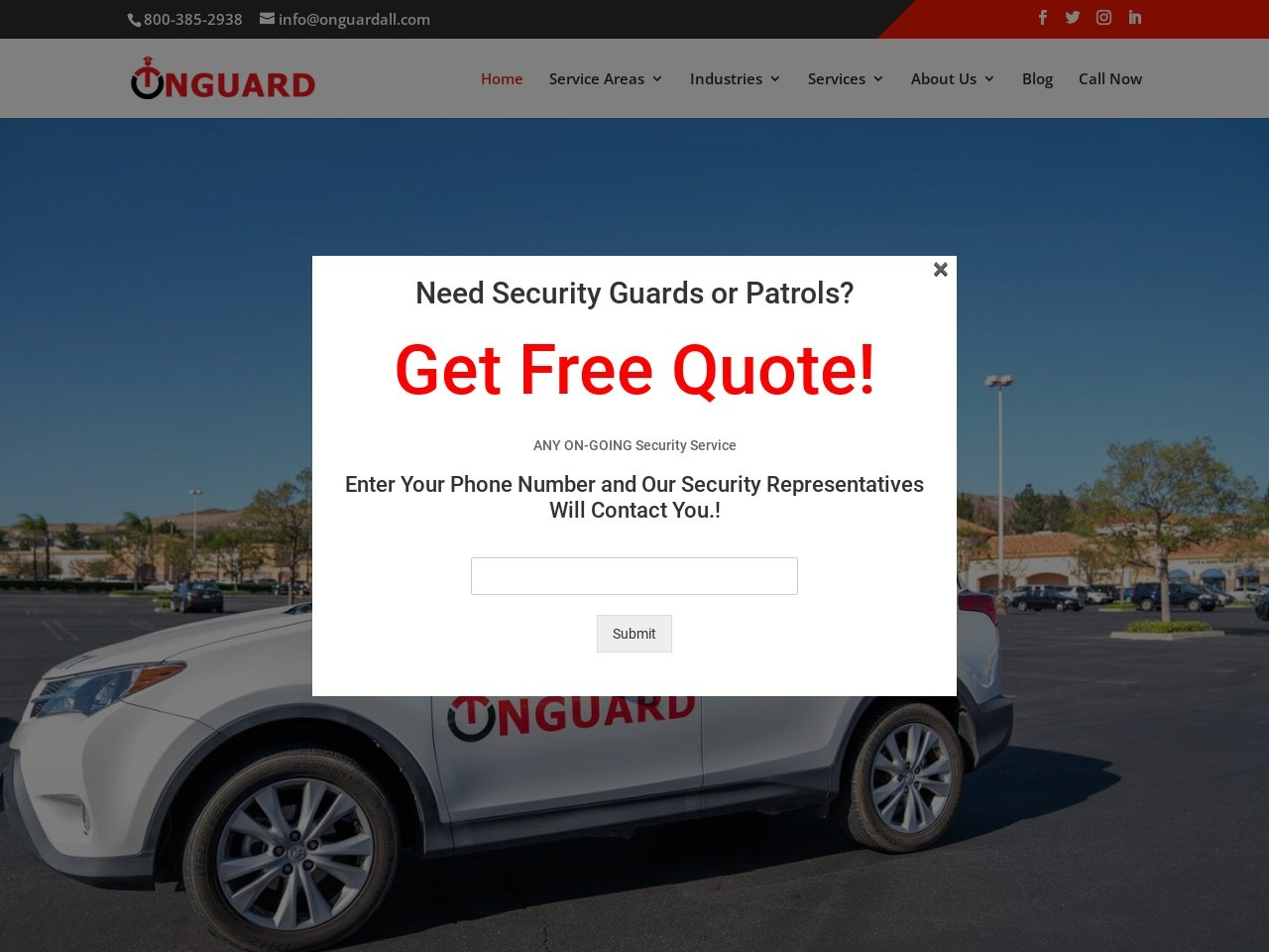 OnGuard: Security Guard Service