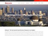 security companies in los angeles california