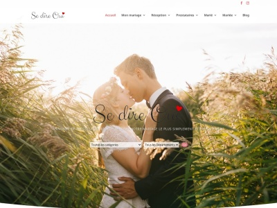 Site mariage et blog mariage : sedireoui.fr