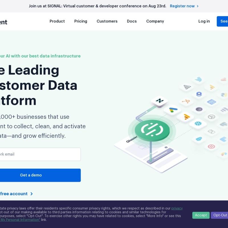 Segment | Customer Data Infrastructure (CDI)
