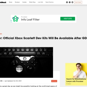 Rumor: Official Xbox Scarlett Dev Kits Will Be Available After GDC 2019 | SegmentNext