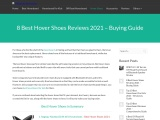 5 Best Hover Shoes Reviews 2012-21 Buying Guide