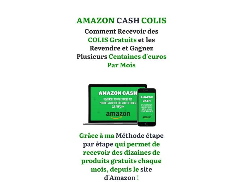 amazon cash colis gratuit