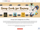 Group cards for Business   Free ecards for the office
