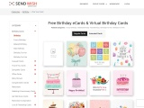 Birthday Greeting Cards |Custom a Free Happy Birthday Group Cards | Birthday E-cards | Virtual Cards