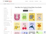 Miss you ecard  Free Miss you Cards  Free Miss You Greeting Card For Special Someone Online