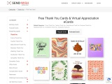Wedding Thanks Cards | Free Thank You Ecards| Online Thank You Cards|Thank You Wish Card