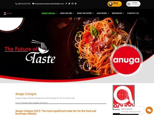 Anuga Cologne 2021 Food Trade Fair