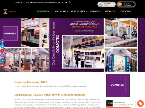 Domotex Trade Fair 2022 in Hannover