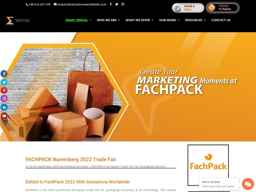FachPack Nuremberg European Trade Fair For Packaging