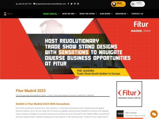 Fitur 2021 International Tourism Trade Fair in Madrid