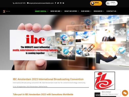 International Broadcasting Convention Trade Fair