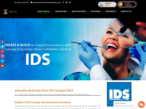 IDS – International Dental Show in Cologne Germany 2021